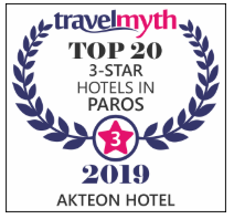 top rated hotel in paros